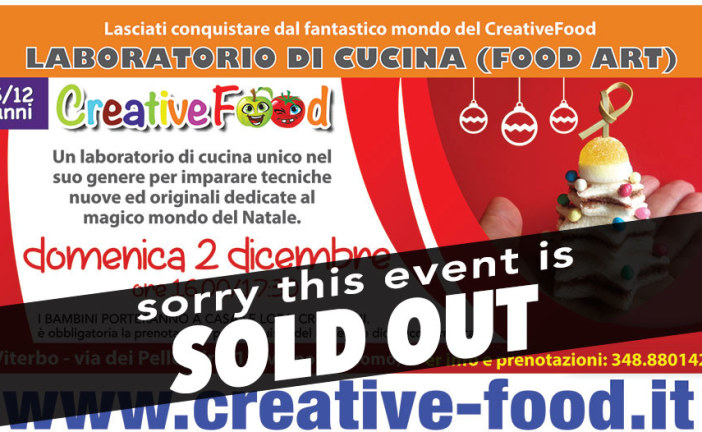 Christmas Laboratorio di cucina per bambini Sold Out
