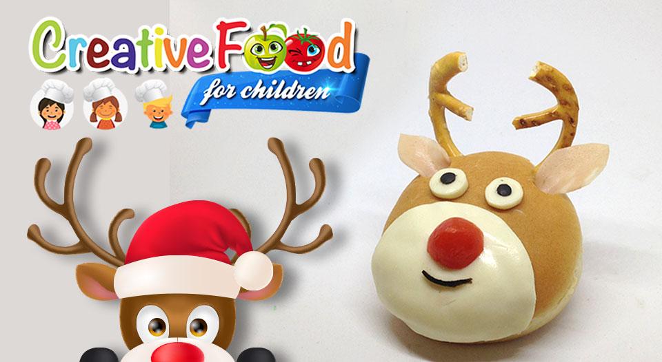 Rudolph La Renna Di Babbo Natale.Renna Di Natale Sandwich Rudolph Creative Cooking