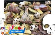 Teschio con funghi – skull