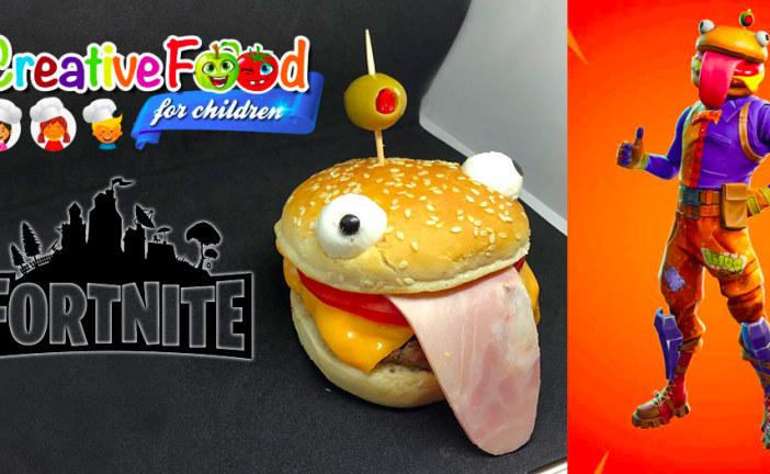 skin – Testa d'Hamburger – durr burger – fortnite – sandwich