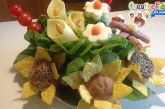Bouquet di fiori o snacks?
