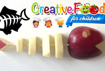 lisca di pesce con mela