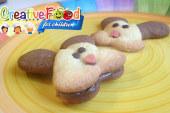 Coniglio biscotto bicolore