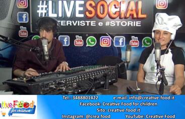 Intervista al Creative Food  | Radio Roma Capitale / #Livesocial