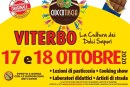 """Cioccotuscia """"La Cultura dei Dolci Sapori"""" 17 e 18 ottobre 2020 a Viterbo"""