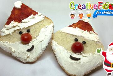 Babbo Natale toast