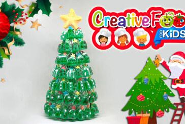 albero di natale con caramelle verdi – composizione