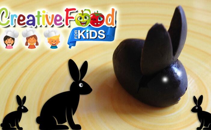 Coniglio nero con oliva