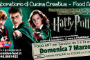 "HARRY POTTER – Laboratorio di CUCINA CREATIVA ""Food Art"" per bambini – OnLine su Zoom"