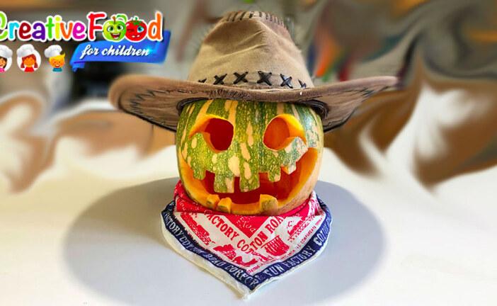 Zucca di Halloween travestita – Jack o' lantern