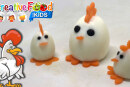 Gallo Checco con uovo sodo