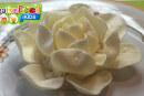 rosa bianca di patatine